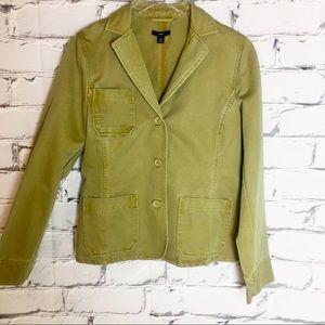 GAP Khaki Green Jacket Sz Med